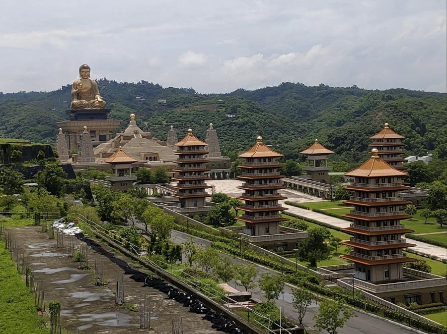 佛光山佛陀紀念館への行き方。必見!台湾の大仏【台湾・高雄観光】