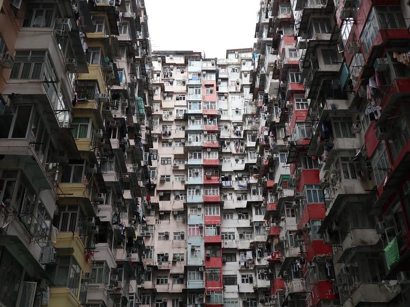香港島クオーリーベイの益発大廈(モンスターマンション)への行き方