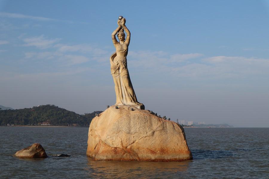 珠海漁女像、海濱公園、石景山公園の行き方【中国広東省・珠海観光】